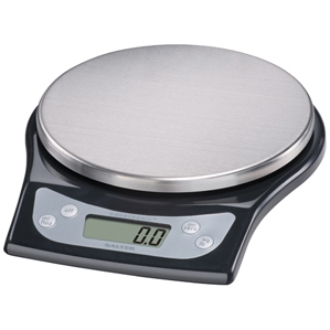 Taylor USA Stainless Steel Electronic Kitchen Scale