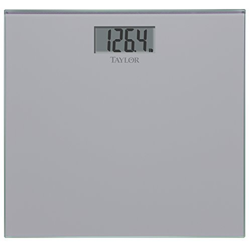 Glass Digital Scale Silver