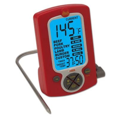 Weekend Warrior Remote Probe Cooking Thermometer/Timer