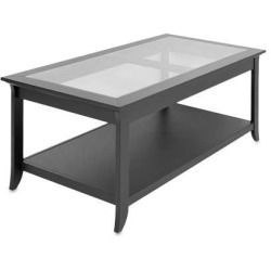 TechCraft Coffee Table Black Finish