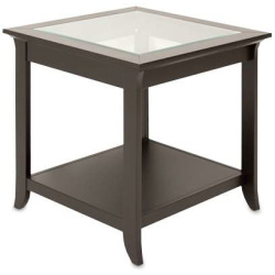 TechCraft End Table Black Finish