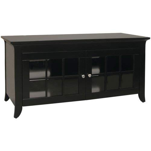 "TechCraft 48"" Wide Wood Credenza Black"