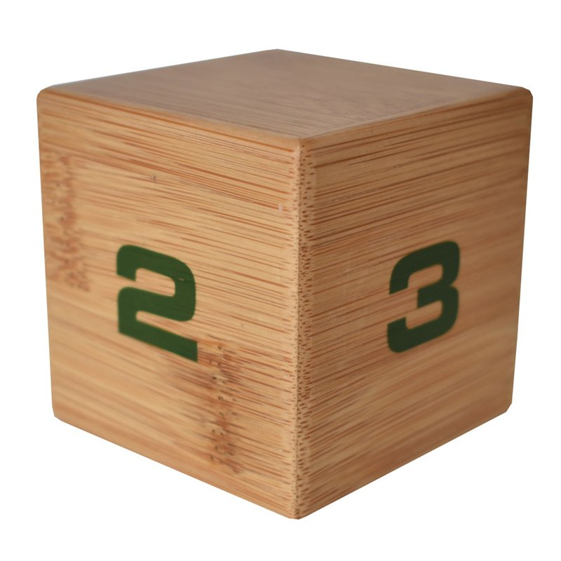 Bamboo TimeCube 1-2-3-4 minutes