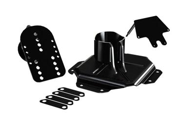 JK HD Adjustable Spare Tire Mounting Kit