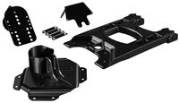 JK HD Hinged Carrier & Adjustable Spare Tire Mounting Kit
