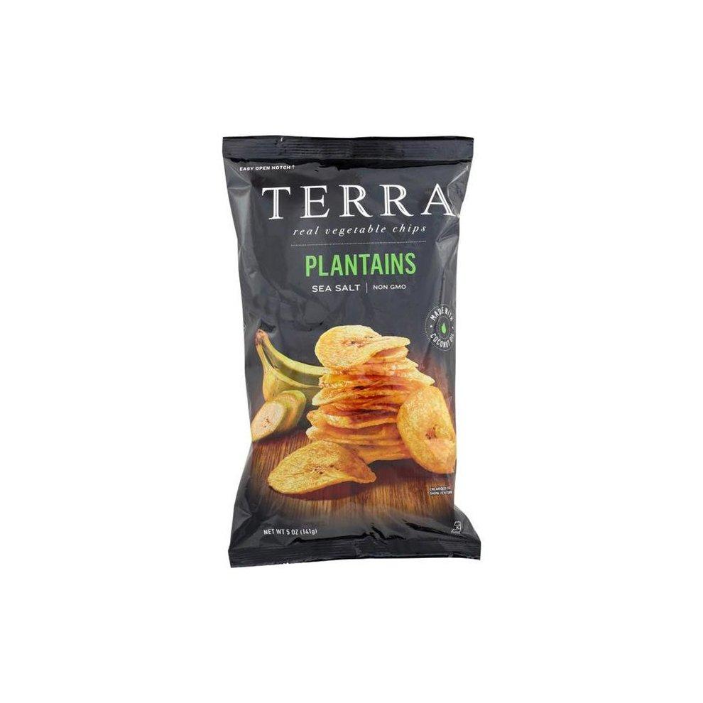 Veggie Chips - Plantains With Sea Salt ( 12 - 5 OZ )