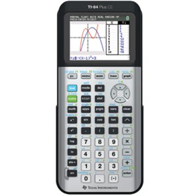 TI 84 PLUS CE Graphing Calculator Space Grey