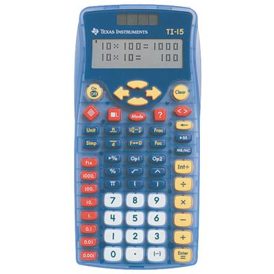 TI 15 School Calculator