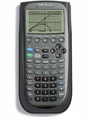 TI 89 Graphing Calculator Titanium