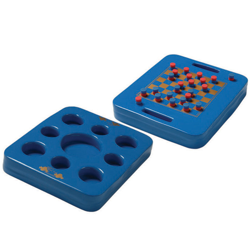 Tray, Texas Rec, KoolTray, Floating Game And Drink Tray, Blue