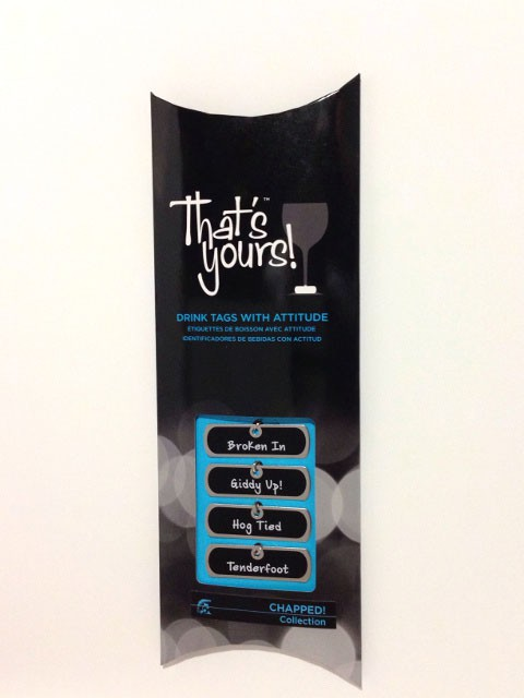 Chapped! Stemware Tag Package