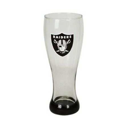 Oakland Raiders Highlight Glass Pilsner