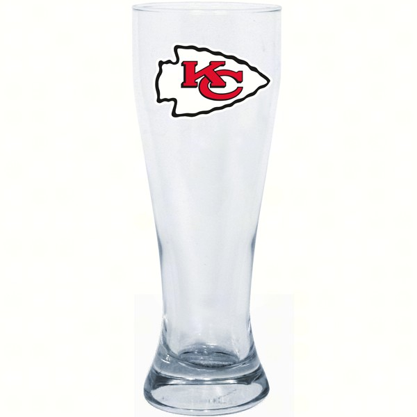 Kansas City Chiefs 23 oz Pilsner Glass