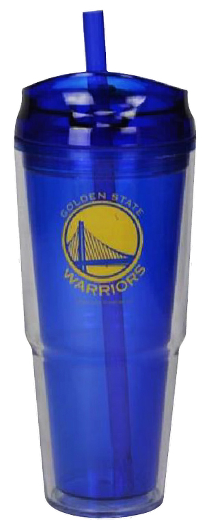 Golden State Warriors Dual Double Wall Travel Tumbler