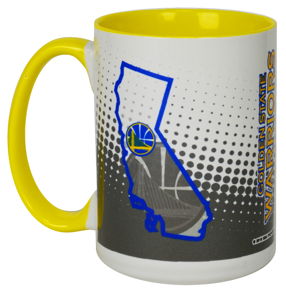 Golden State Warriors Inner Color Sublimated Mugs