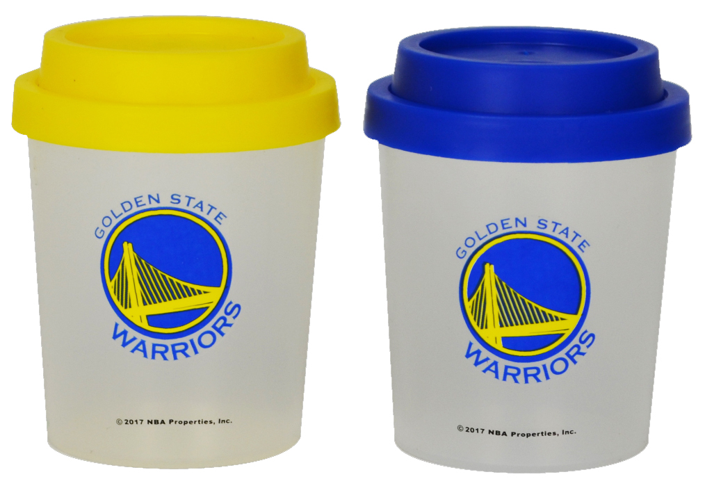 Golden State Warriors Plastic Salt and Pepper