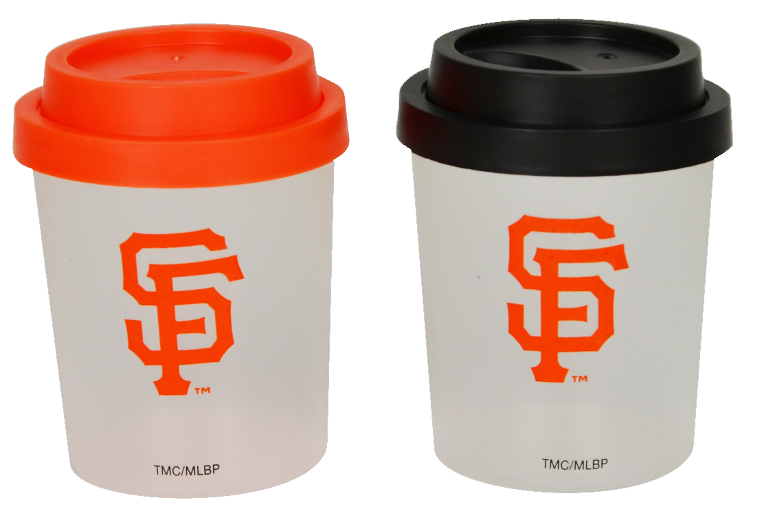 San Francisco Giants Plastic Salt and Pepper