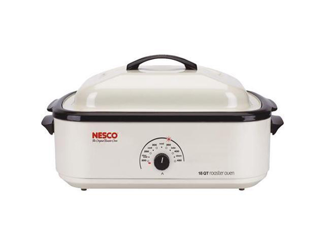 Nesco 18 Quart Roaster Oven Ivory