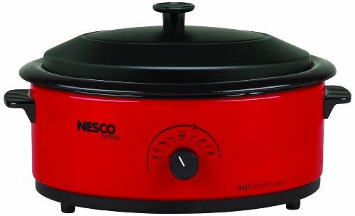 Nesco 6 Quart Roaster Oven Red