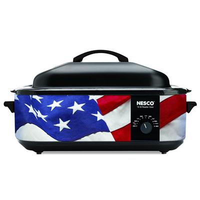 Nesco 18Qt Roaster Patriotic