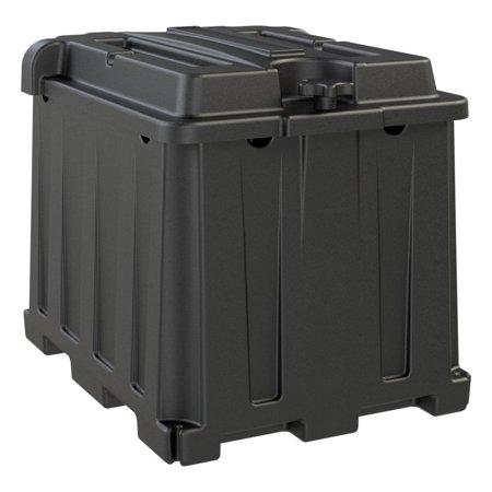 DUAL 6V BATTERY BOX BLACK
