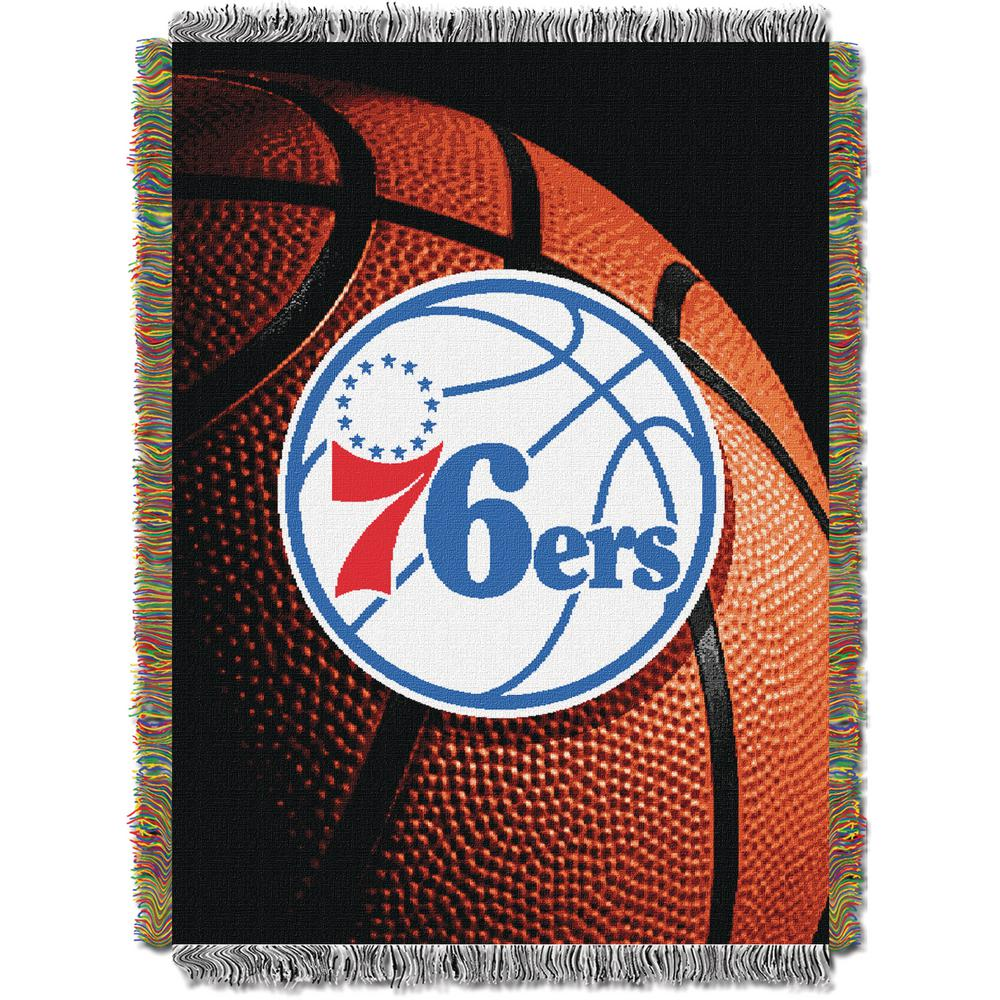"""76ers OFFICIAL National Basketball Association, """"Photo Real"""" 48""""x 60"""" Woven Tapestry Throw  by The Northwest Company"""