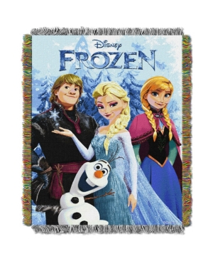 """Disney Frozen Fun Licensed 48""""x 60"""" Woven Tapestry Throw  by The Northwest Company"""