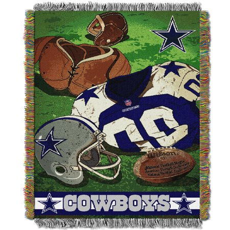 "Cowboys OFFICIAL National Football League, ""Vintage"" 48""x 60"" Woven Tapestry Throw  by The Northwest Company"