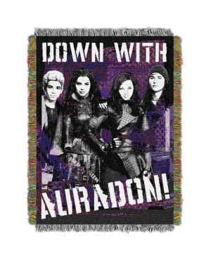 """Disney Descendants Rotten Licensed 48""""x 60"""" Woven Tapestry Throw  by The Northwest Company"""