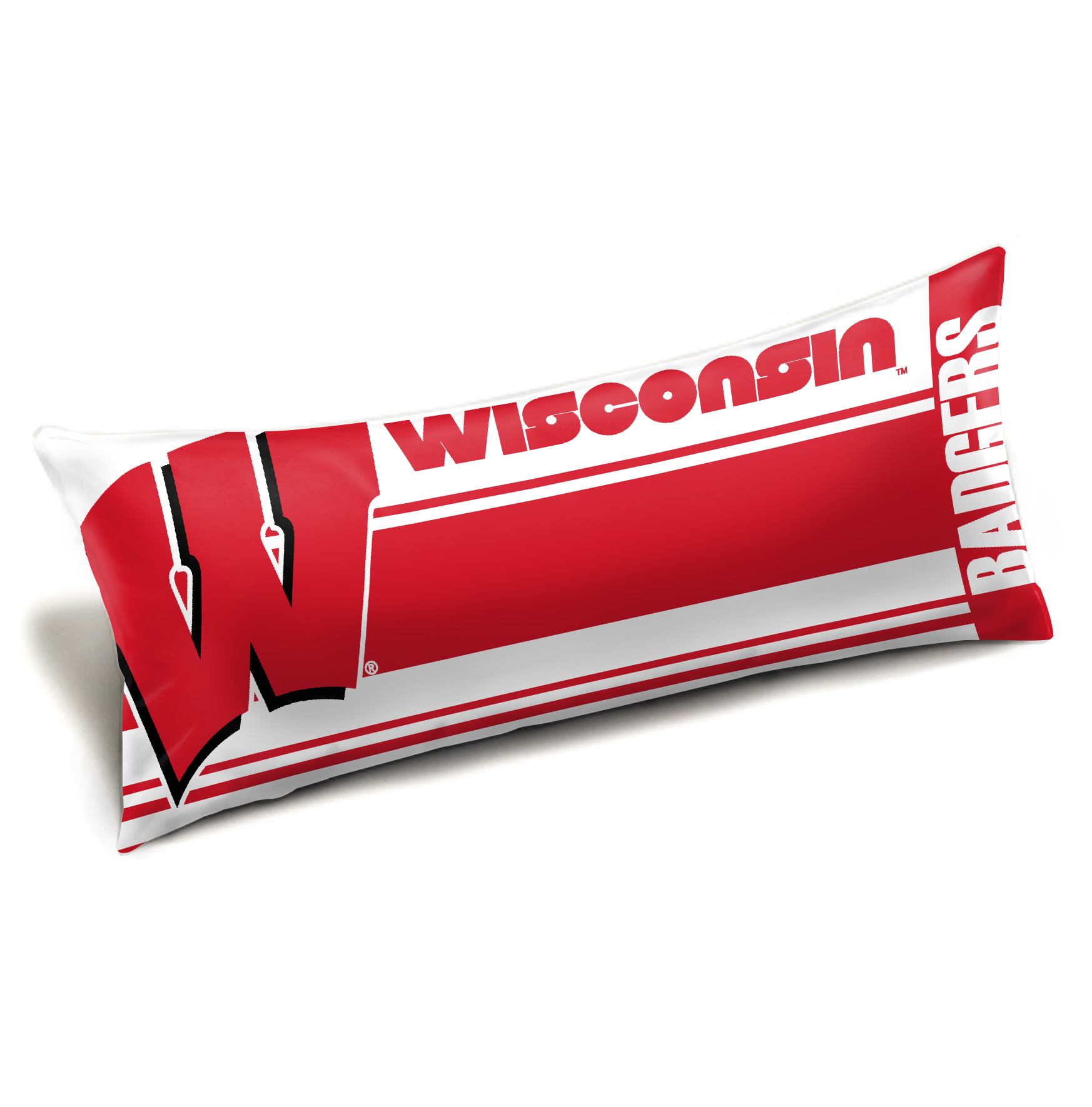 "Wisconsin OFFICIAL Collegiate ""Seal"" Body Pillow"