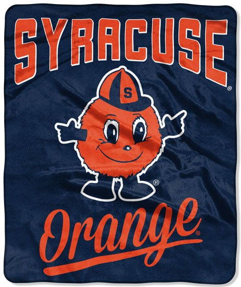 "Syracuse OFFICIAL Collegiate, ""Alumni"" 50""x 60"" Raschel Throw  by The Northwest Company"