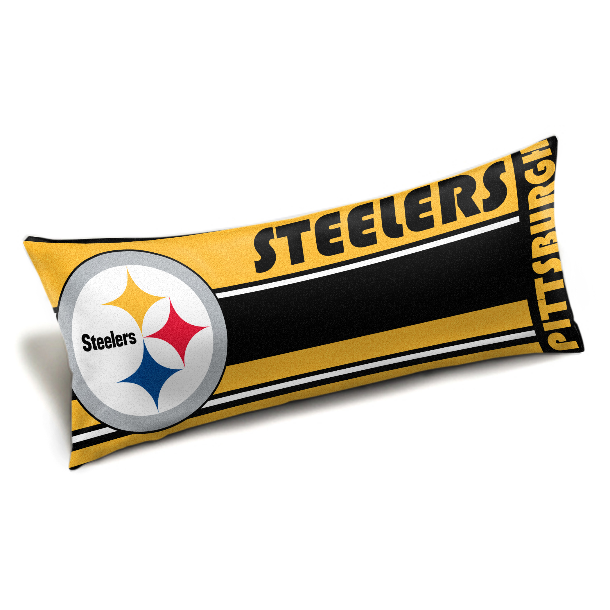 "Steelers OFFICIAL  ""Seal"" Body Pillow"