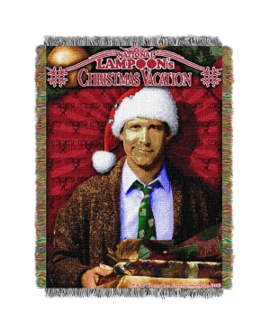 """Christmas Vacation Pile of Gifts Licensed Holiday 48""""x 60"""" Woven Tapestry Throw  by The Northwest Company"""