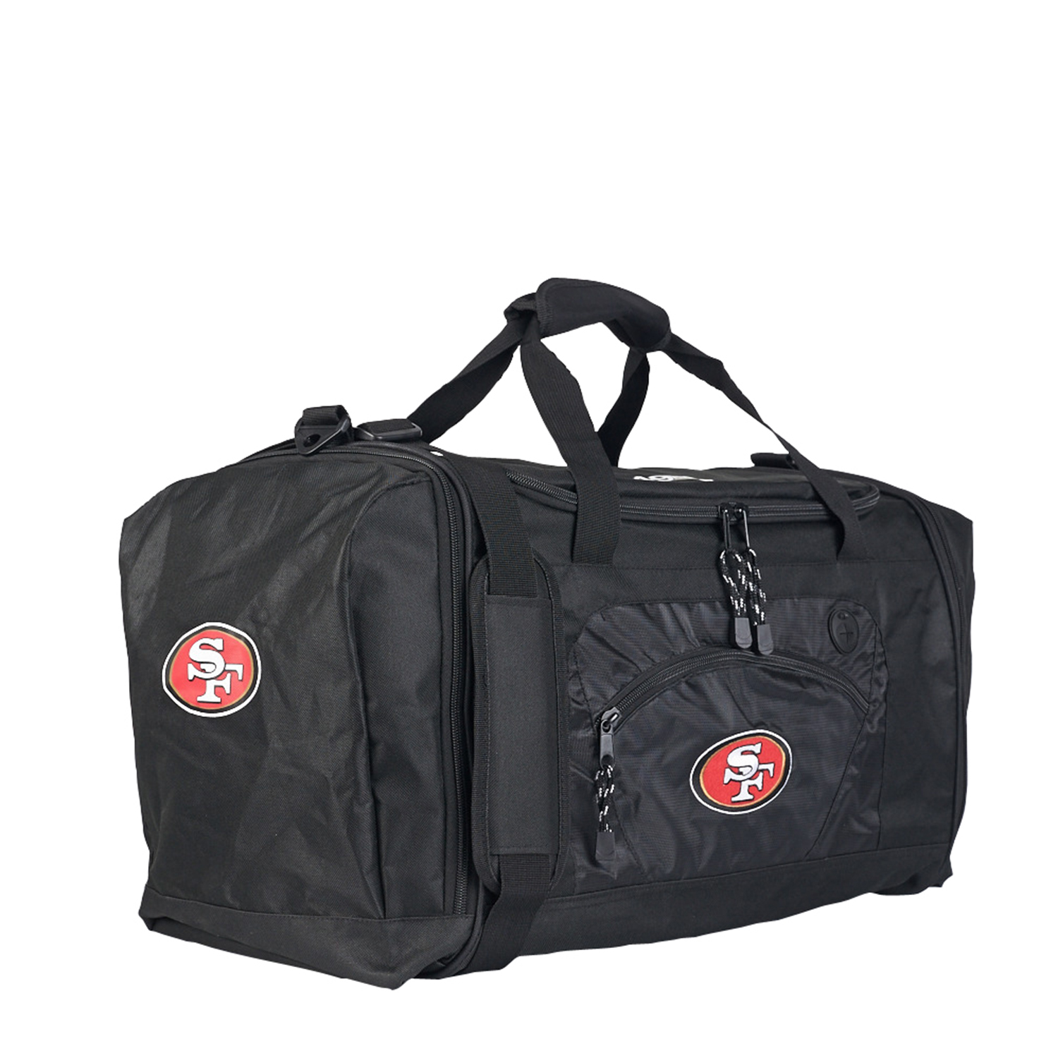"49ers OFFICIAL National Football League, ""Roadblock"" 20""L x 11.5""W x 13""H Duffel Bag  by The Northwest Company"