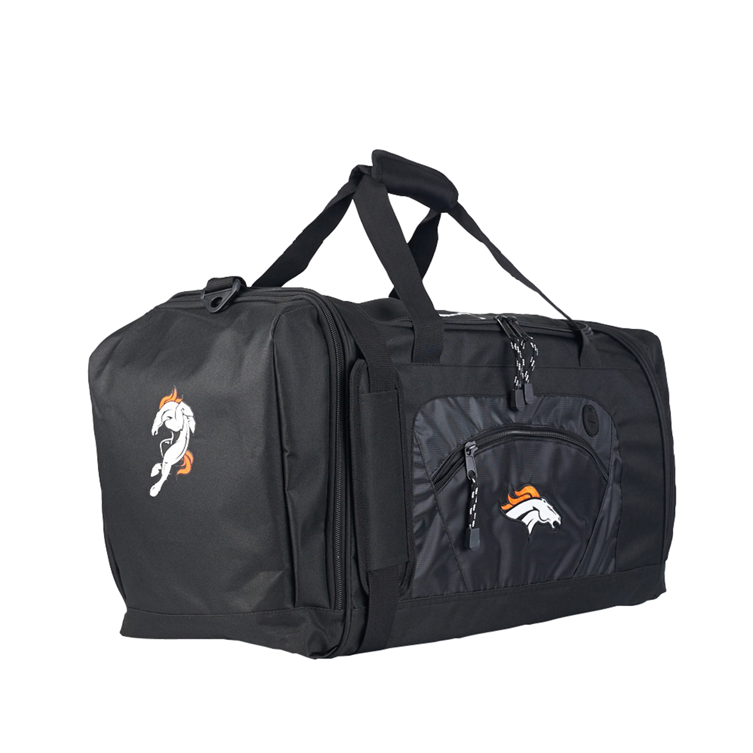 "Broncos OFFICIAL National Football League, ""Roadblock"" 20""L x 11.5""W x 13""H Duffel Bag  by The Northwest Company"
