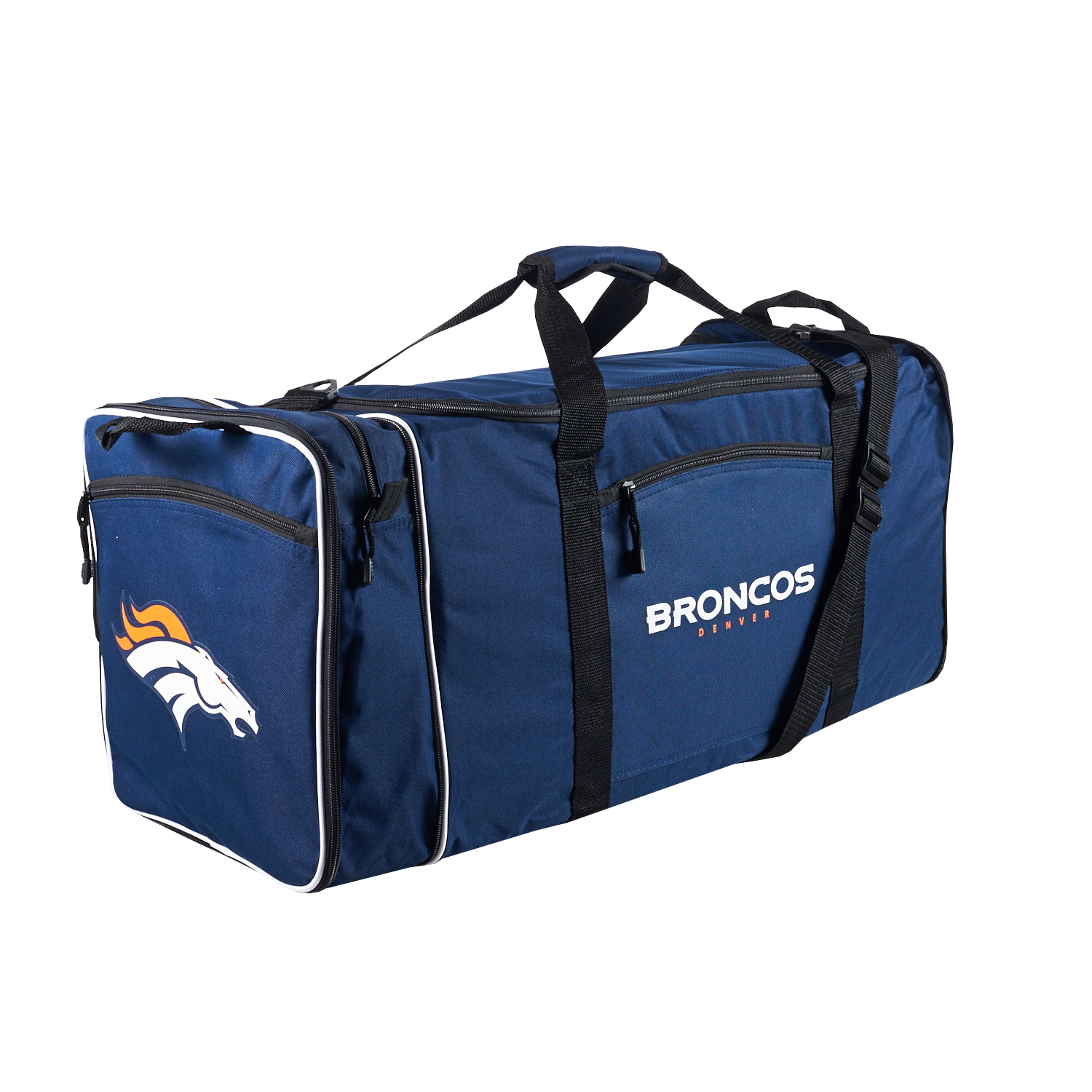 "Broncos OFFICIAL National Football League, ""Steal"" 12""H x 28""L x 11"" W Duffel Bag  by The Northwest Company"