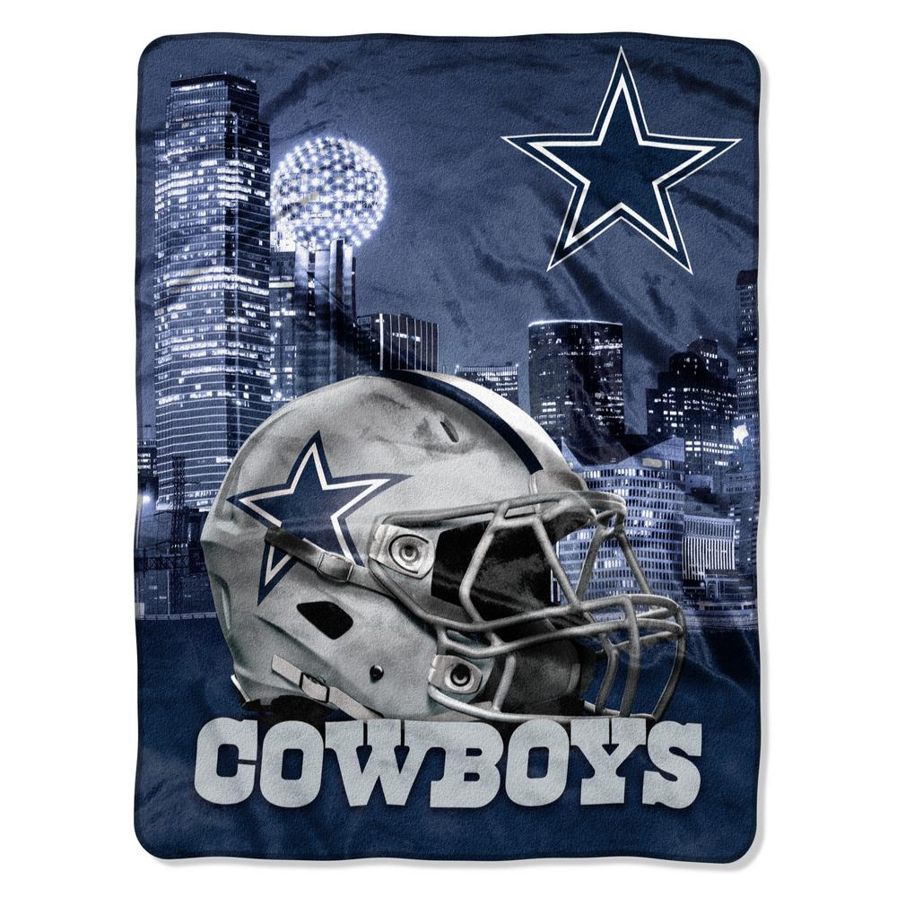 "Cowboys OFFICIAL National Football League, ""Heritage"" 50""x 60"" Silk Touch Raschel Throw  by The Northwest Company"