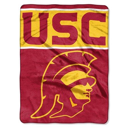 "USC OFFICIAL Collegiate ""Basic"" Raschel Throw"