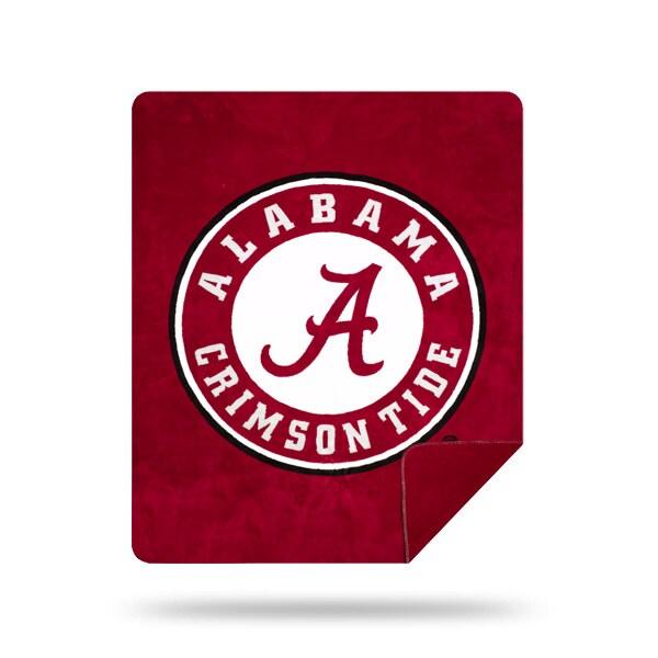 Alabama OFFICIAL Collegiate Denali Sliver Knit Throw