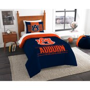 "Auburn OFFICIAL Collegiate ""Modern Take"" Twin Comforter & Sham Set"