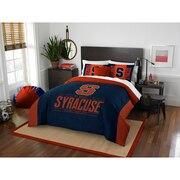 "Syracuse OFFICIAL Collegiate ""Modern Take"" Full/Queen Comforter & Sham Set"