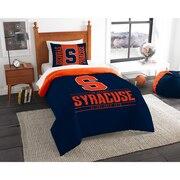 "Syracuse OFFICIAL Collegiate ""Modern Take"" Twin Comforter & Sham Set"