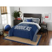 "Dodgers OFFICIAL Major League Baseball, Bedding, ""Grand Slam"" Full/Queen Printed Comforter (86""x 86"") & 2 Shams (24""x 30"") Set"