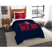 "Red Sox OFFICIAL Major League Baseball, Bedding, Printed Twin Comforter (64""x 86"") & 1 Sham (24""x 30"") Set  by The Northwest Com"