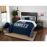 "Yankees OFFICIAL Major League Baseball, Bedding, ""Grand Slam"" Full/Queen Printed Comforter (86""x 86"") & 2 Shams (24""x 30"") Set"