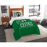 "Celtics OFFICIAL National Basketball Association, Bedding, ""Reverse Slam"" Printed Twin Comforter (64""x 86"") & 1 Sham (24""x 30"")"