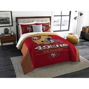"""49ers OFFICIAL  """"Grand Slam"""" King Comforter & Shams Set"""