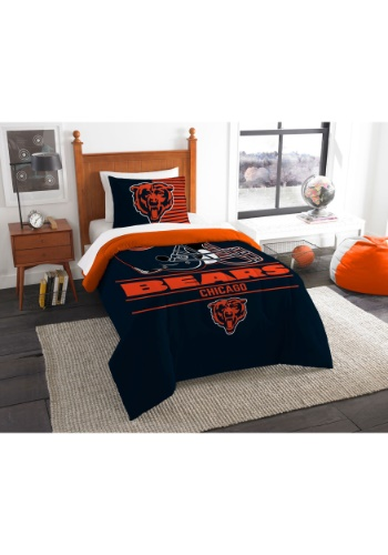 "Bears OFFICIAL National Football League, Bedding, ""Draft"" Printed Twin Comforter (64""x 86"") & 1 Sham (24""x 30"") Set  by The Nort"