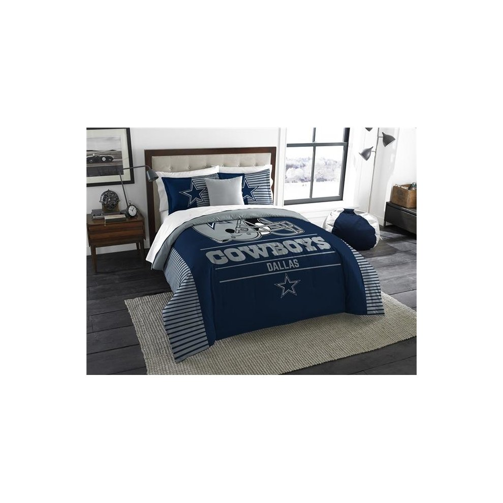 "Cowboys OFFICIAL  ""Grand Slam"" King Comforter & Shams Set"