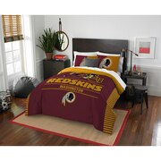 "Redskins OFFICIAL National Football League, Bedding, ""Draft"" Full/Queen Printed Comforter (86""x 86"") & 2 Shams (24""x 30"") Set  b"